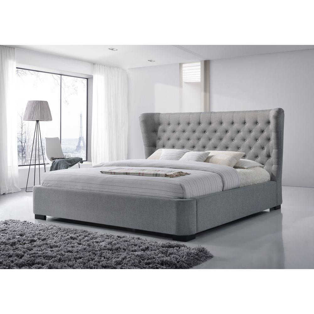 Image of: Grey Futon Platform