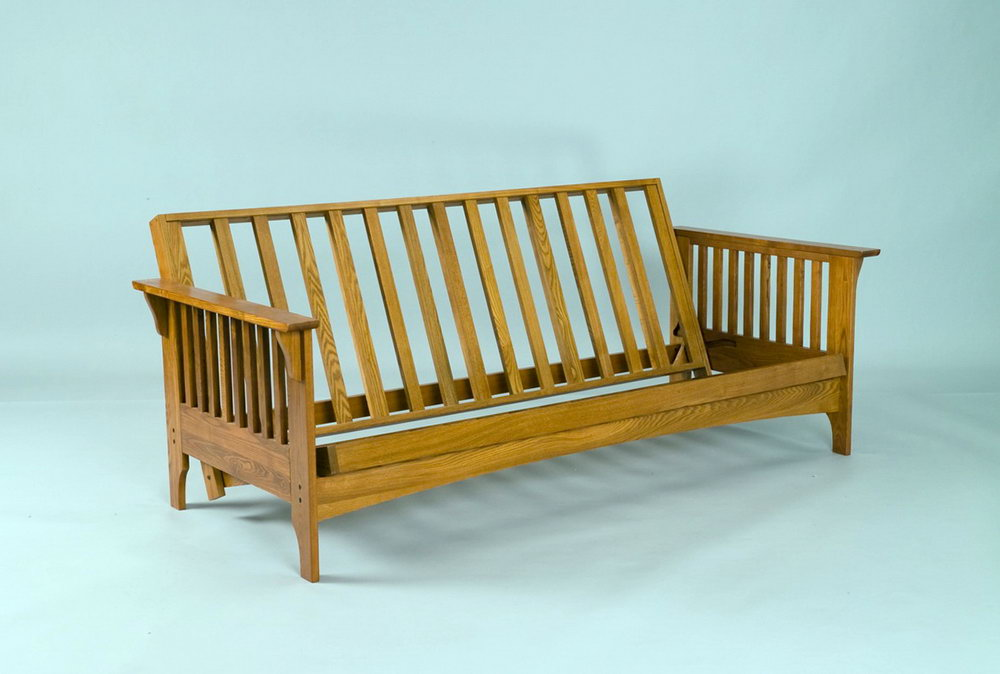 Image of: IKEA Futon Bed Frame Contemporary Wood