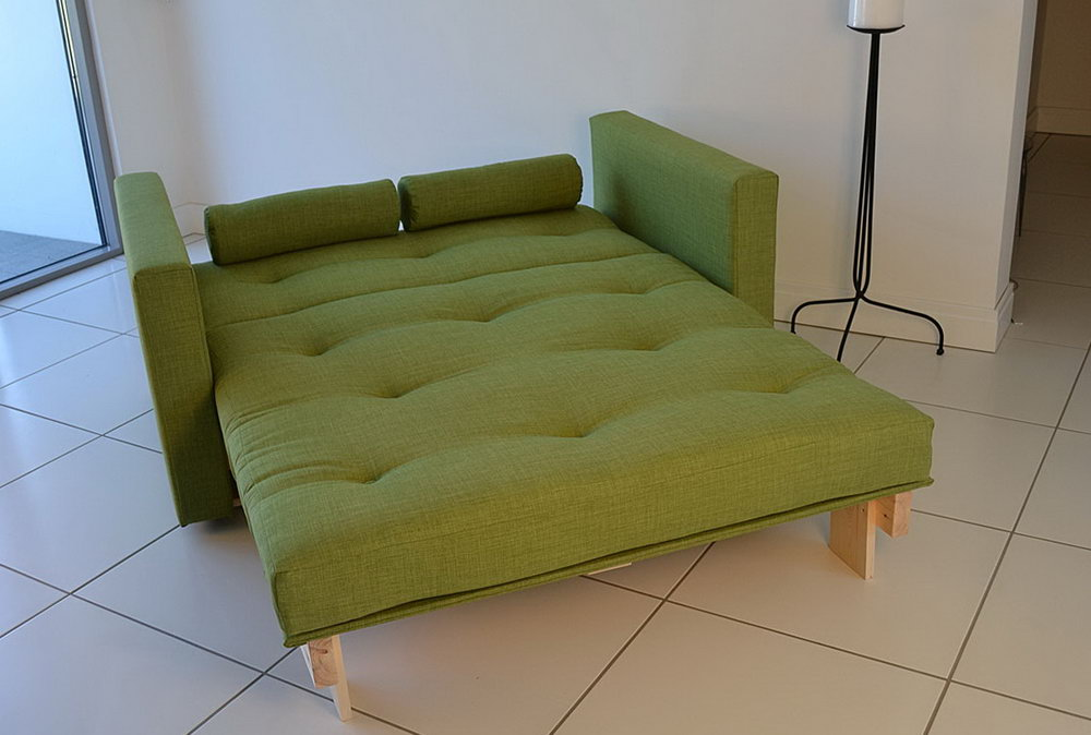 Image of: IKEA Futon Mattress Style Sleeper Bed