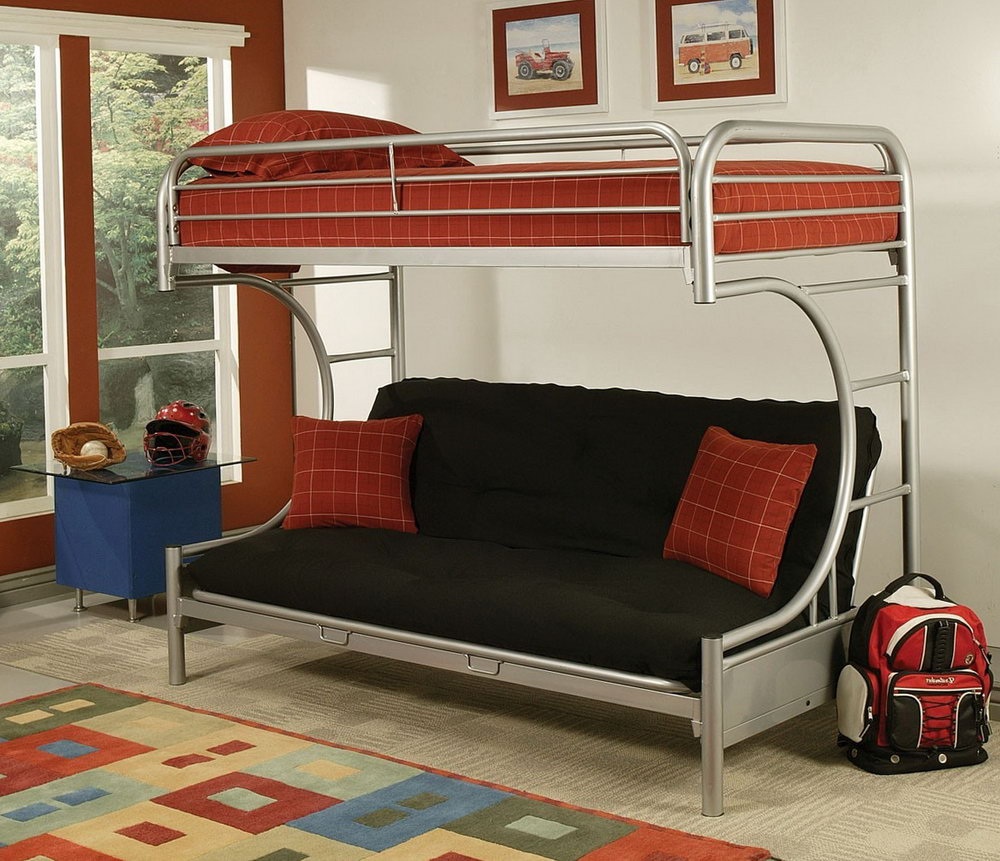 Image of: Kids Bunk Futon Beds Ikea