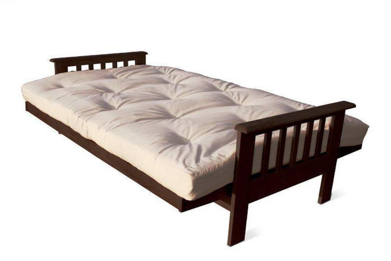 Image of: King Size Futon Wood Frame