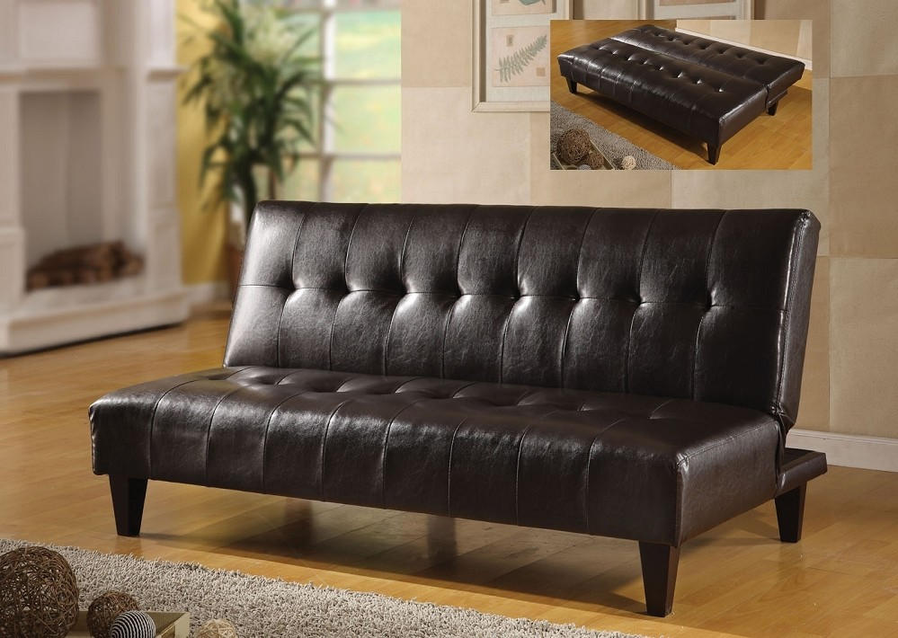 Image of: Klik Klak Futon Black