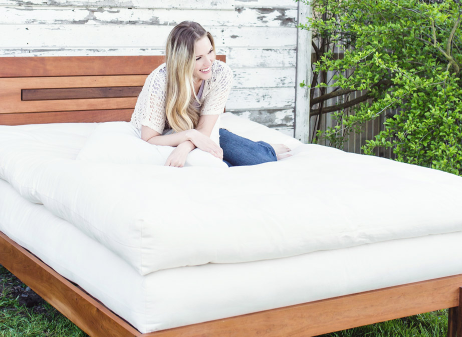 Image of: Large Futon Mattress Cover