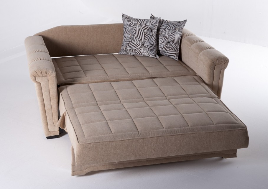 Image of: Loveseat Futon Sleeper Modern