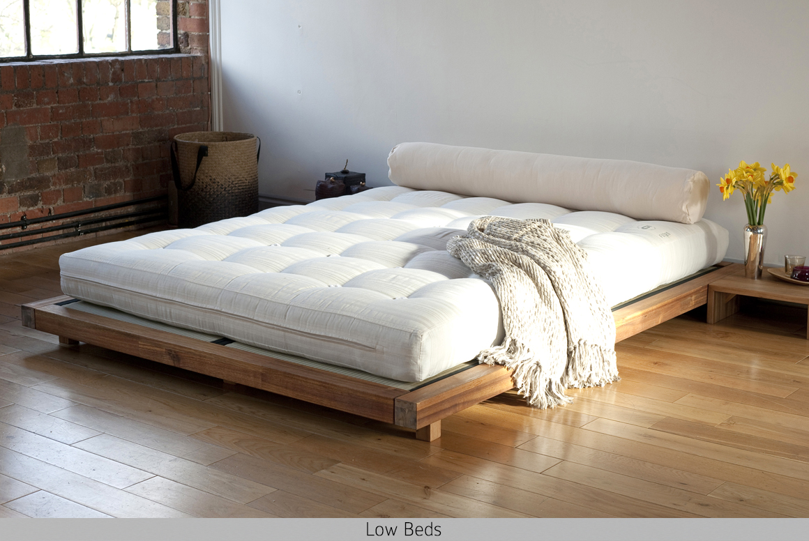 Image of: Low Bed King Size Futon
