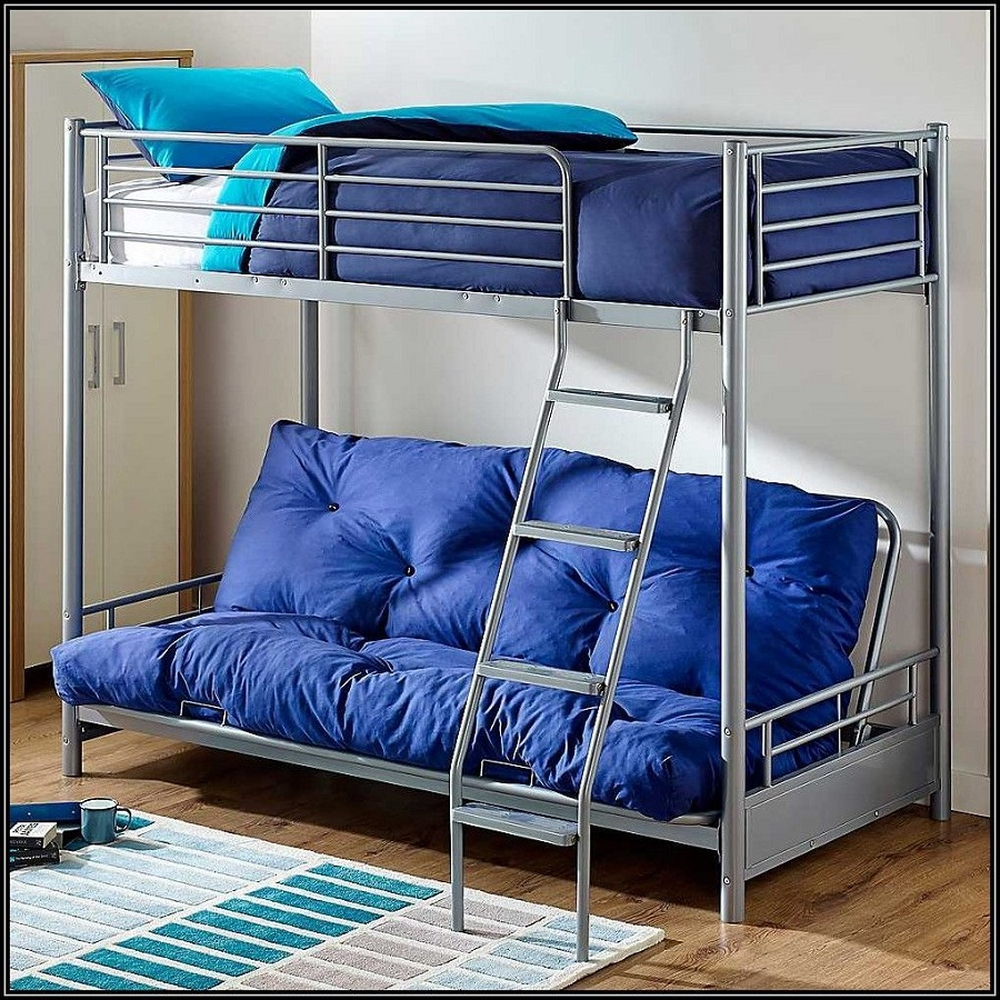 Image of: Luxurious Futon Beds with Mattress Included