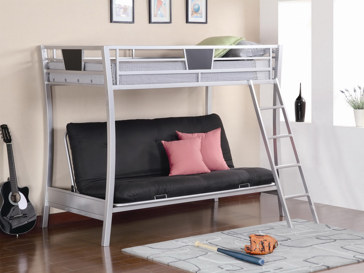 Metal Futon Bunk Bed