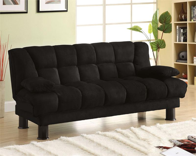 Image of: Microfiber Futon Couches