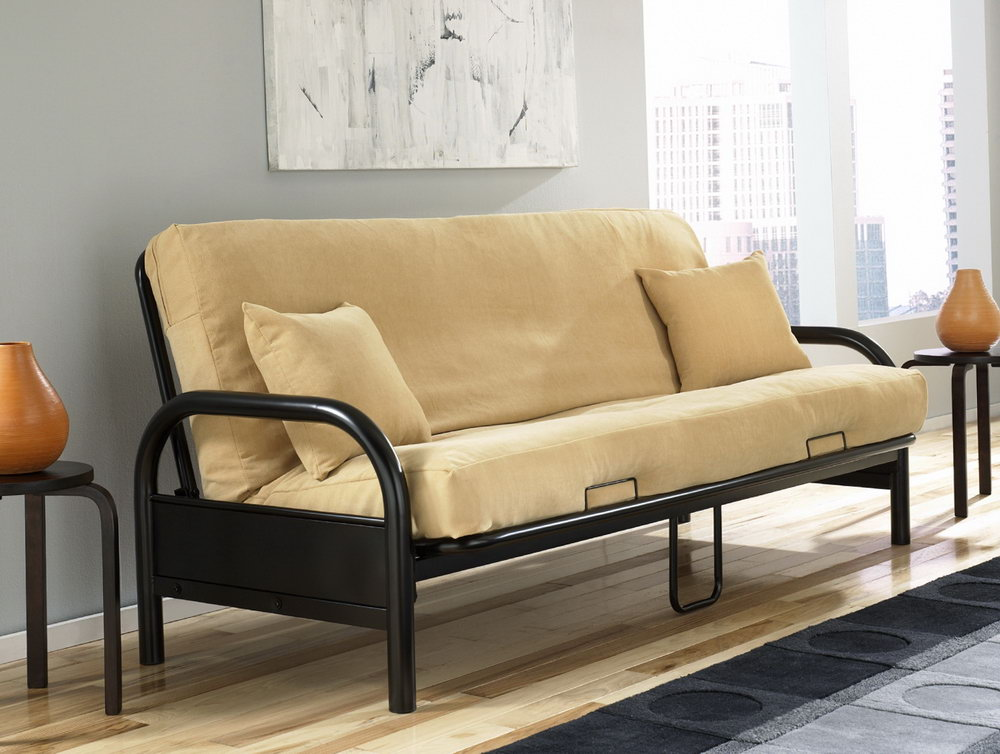 Image of: Mini Futon Lounger