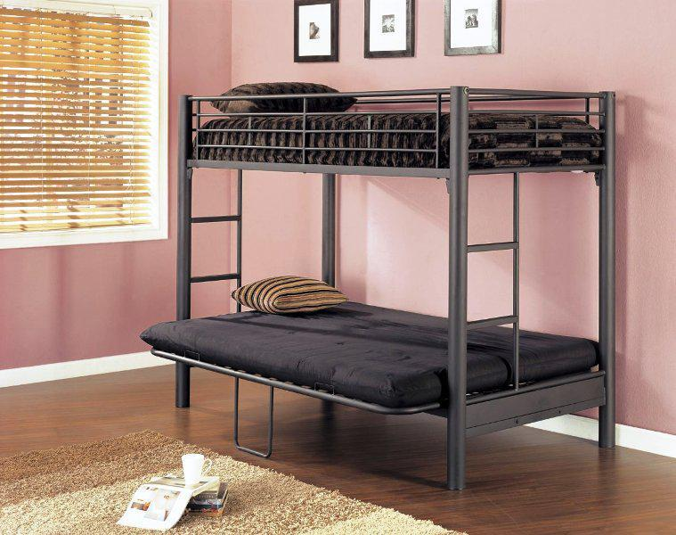 Image of: Mini Futon Sofa Bed Sleeper Bunk