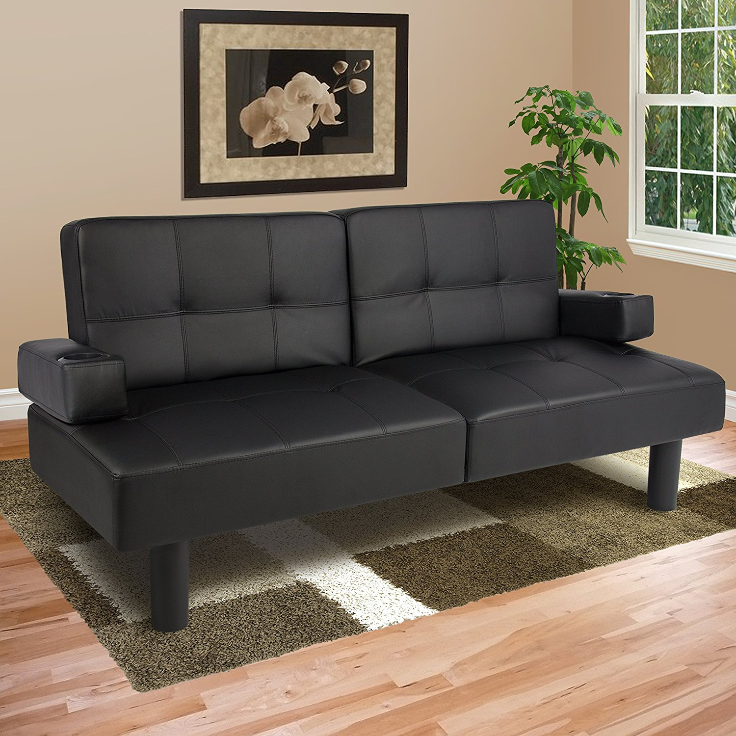 Image of: Modern Queen Size Futon Mattress Ideas