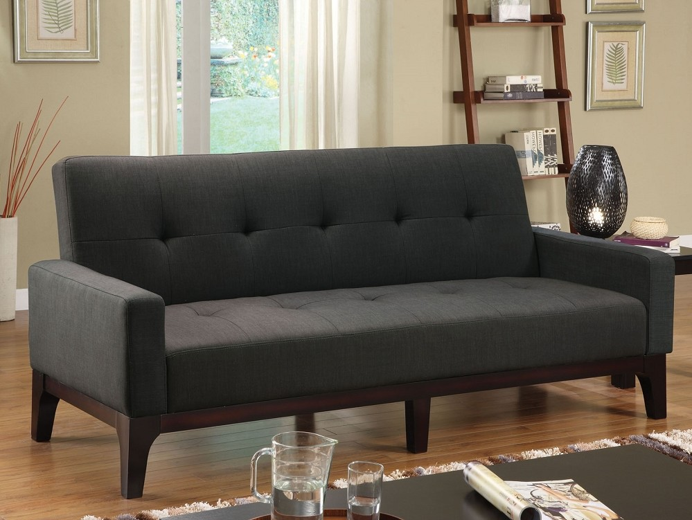 Image of: Padded Futon Couches