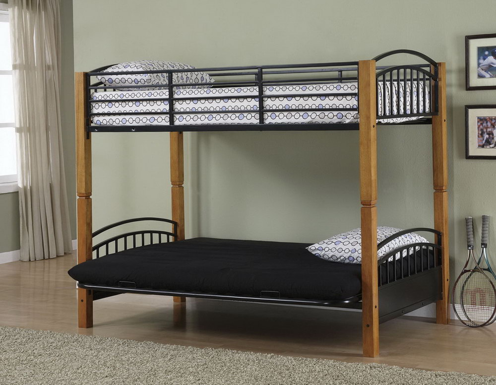 Image of: Perfect Loft Bed with Futon
