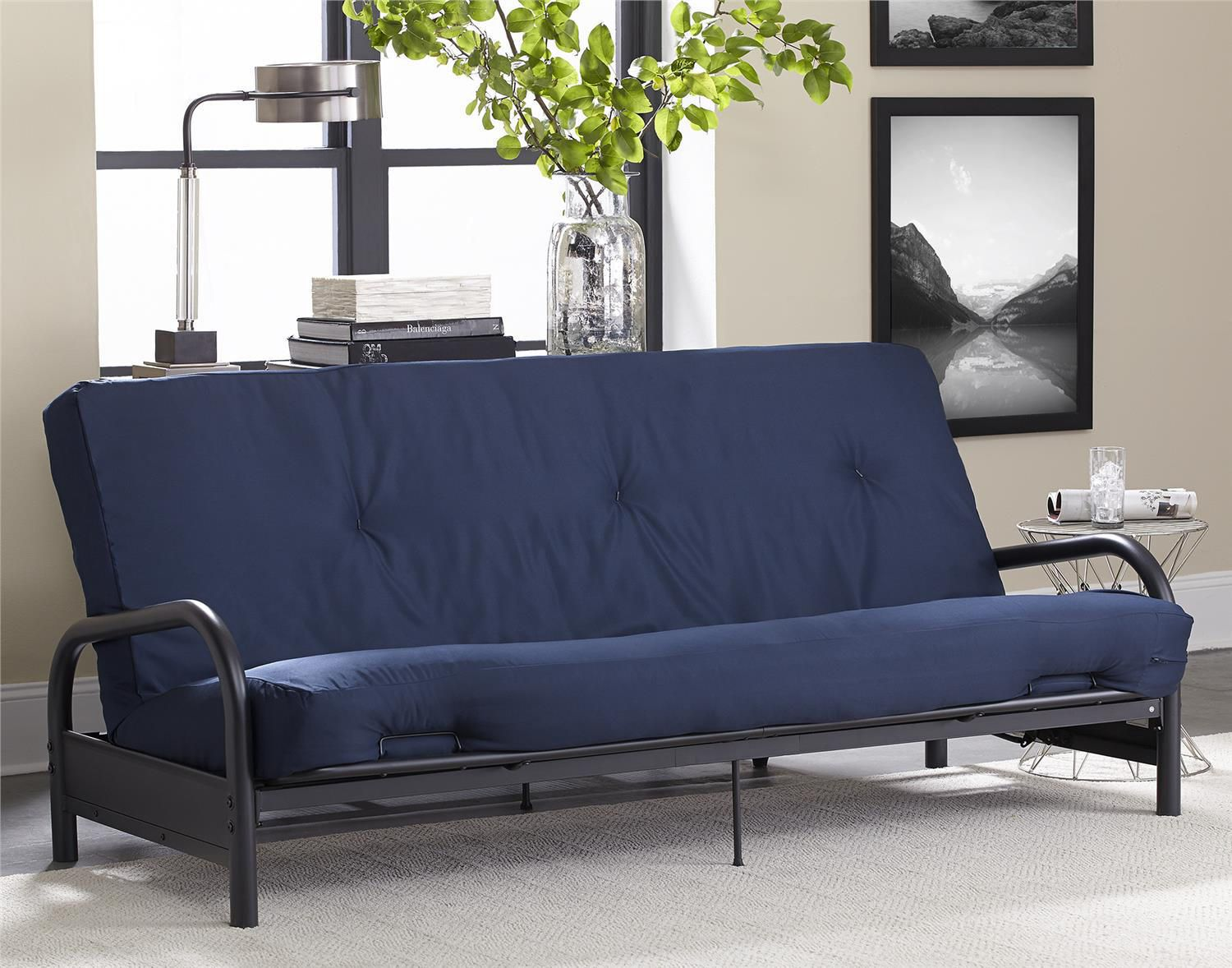 Image of: Popular Cheap Futon Mattress
