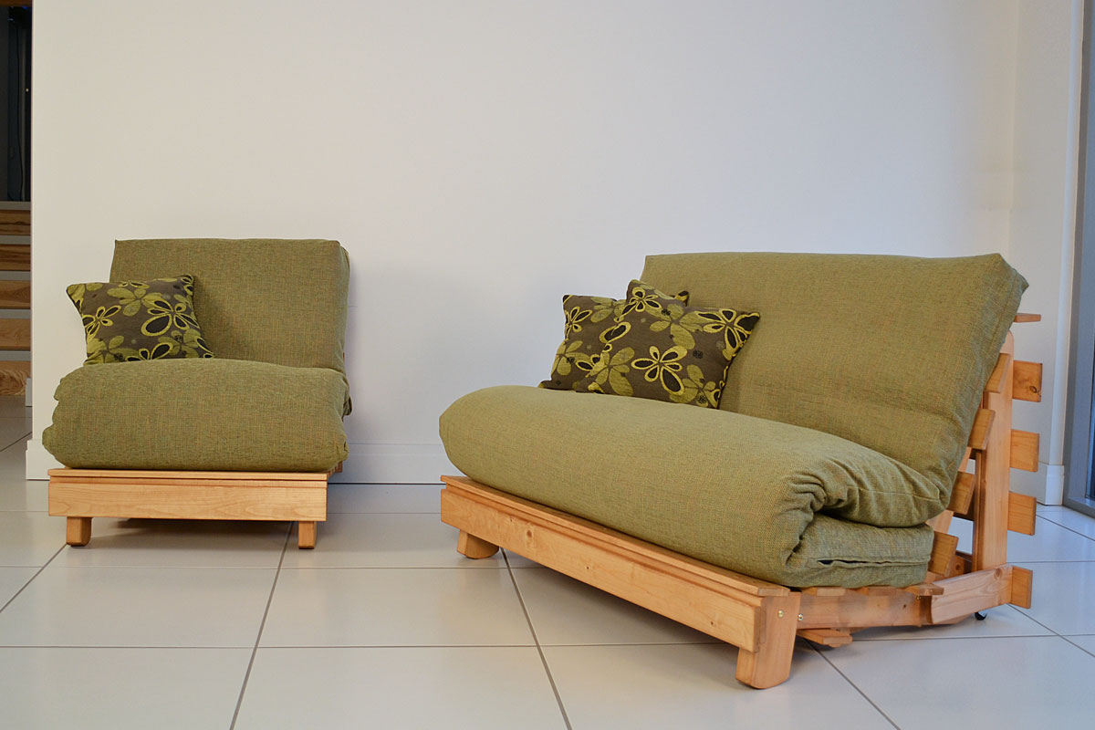 Image of: Popular Futon Chairs