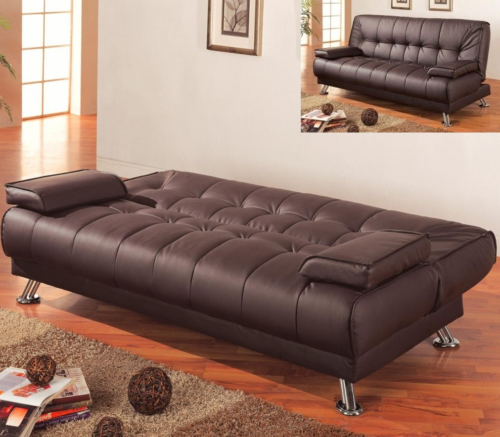Image of: Pretty Futon Sofa Beds