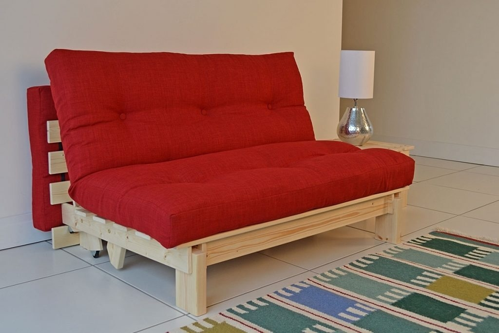 Image of: Red Futon Value City