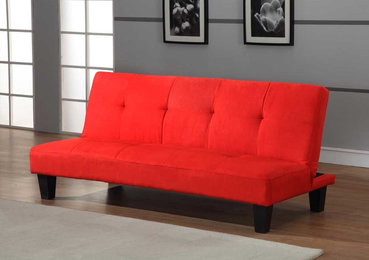 Red Kids Futon