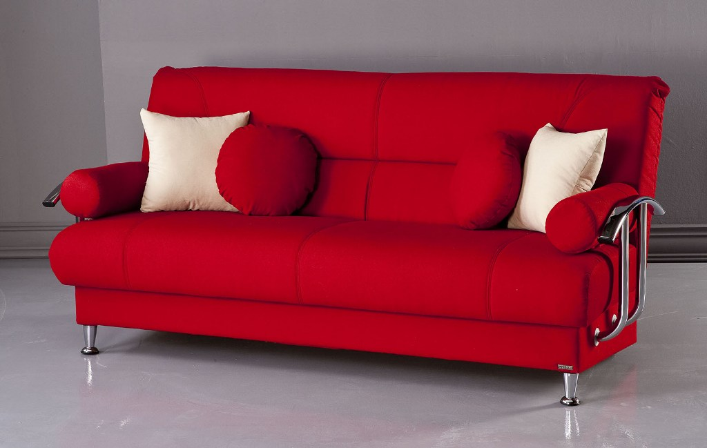 Red Sofa Futons Walmart