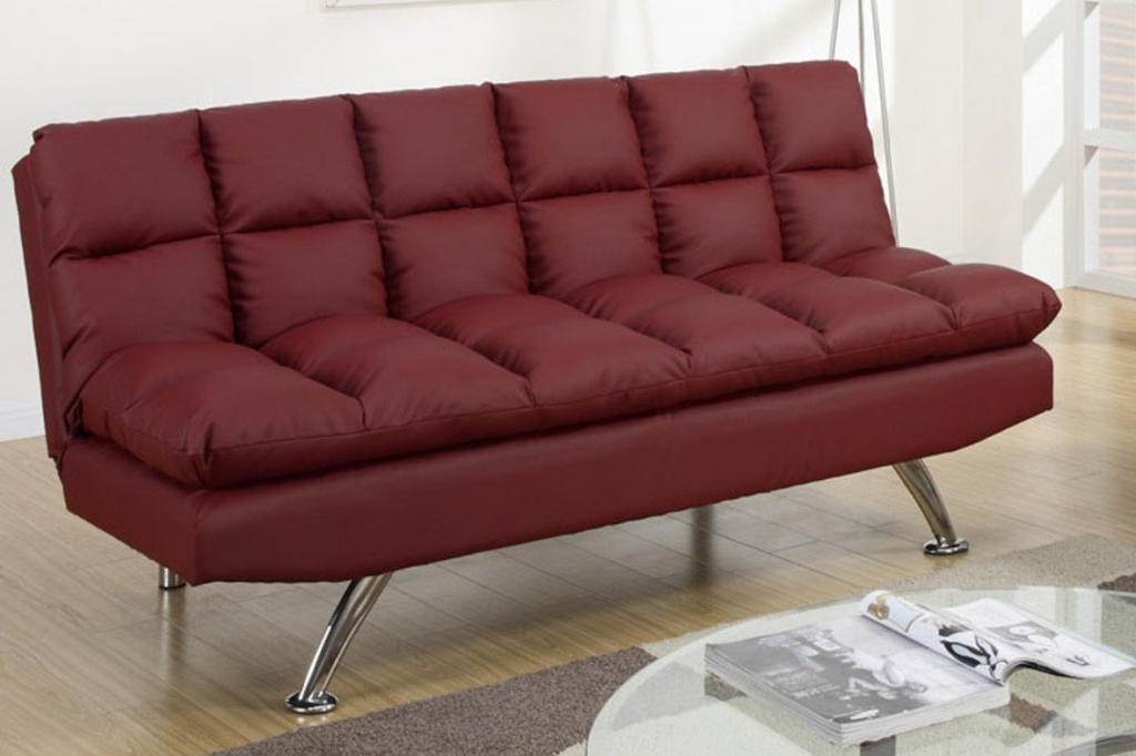 Red Twin Futon Chair