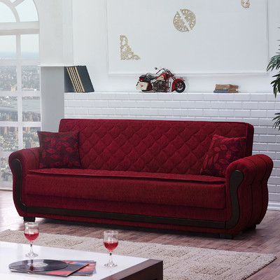 Sears Futon Red