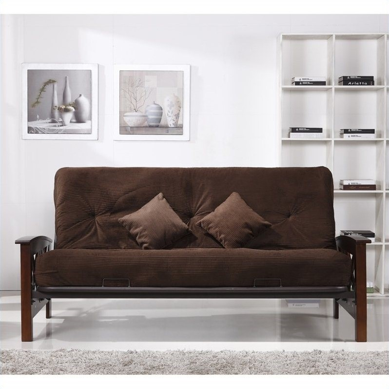 Image of: Sears Futons Brown