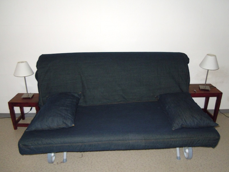 Simple IKEA Futon Cover