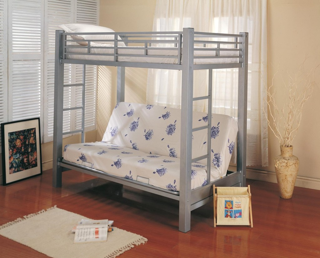 Simple Twin Over Futon Bunk Bed