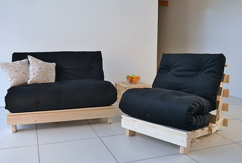 Image of: Sofa Bed King Size Futon