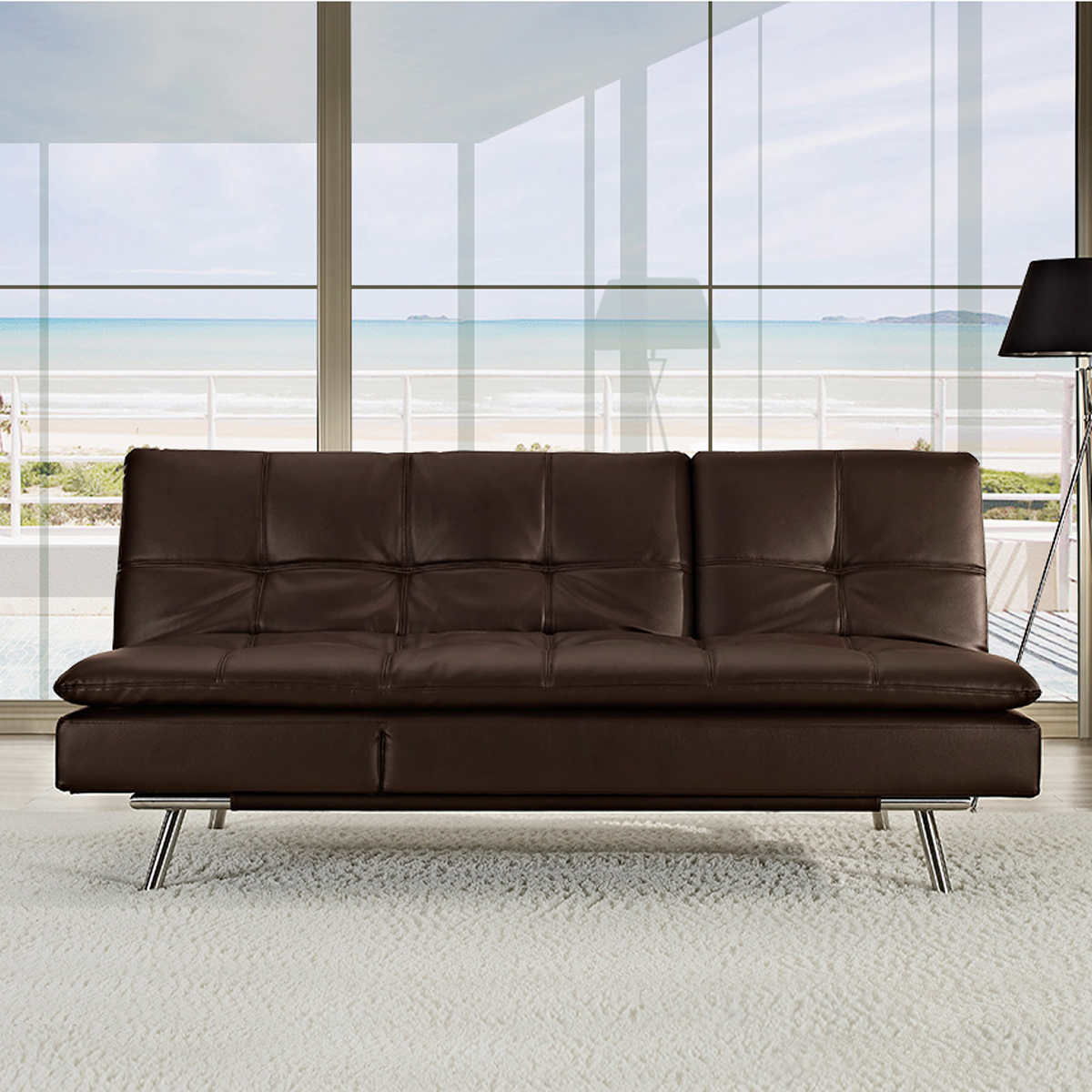Image of: Stylish Costco Futon Sofa