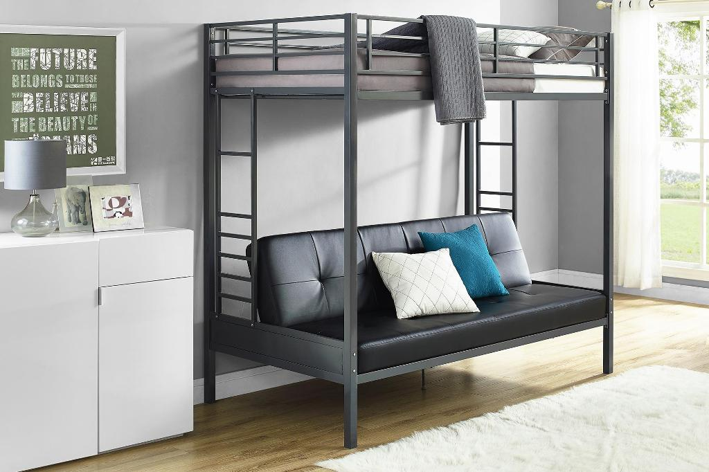 Image of: Twin Over Futon Bunk Bed Ideas