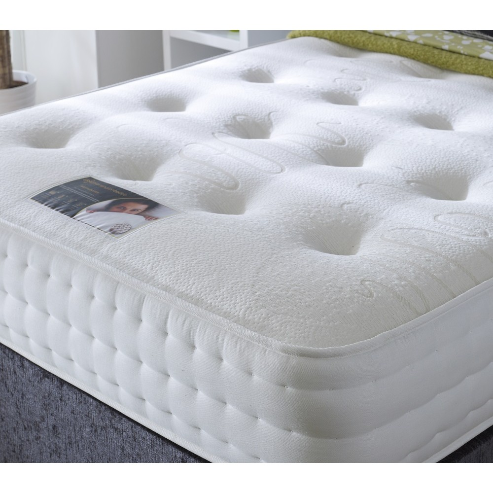 White Futon Topper