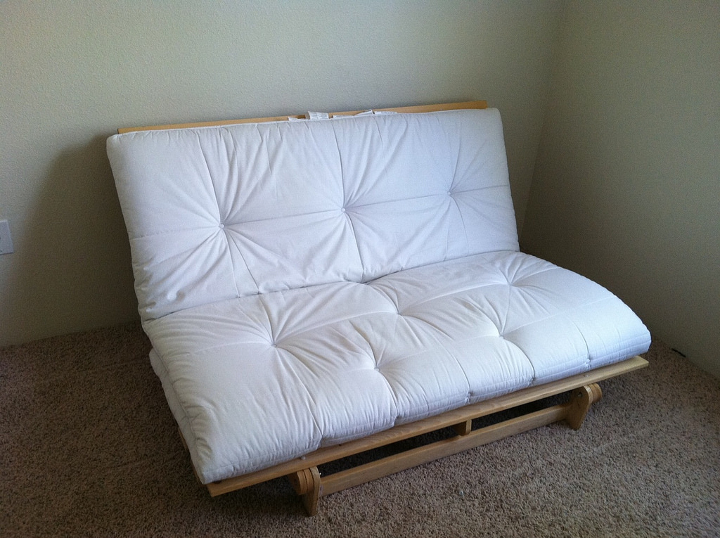 White Futon mattress Ikea