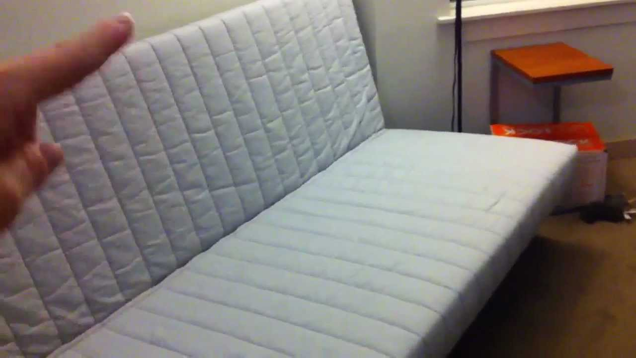 White IKEA Futon Cover