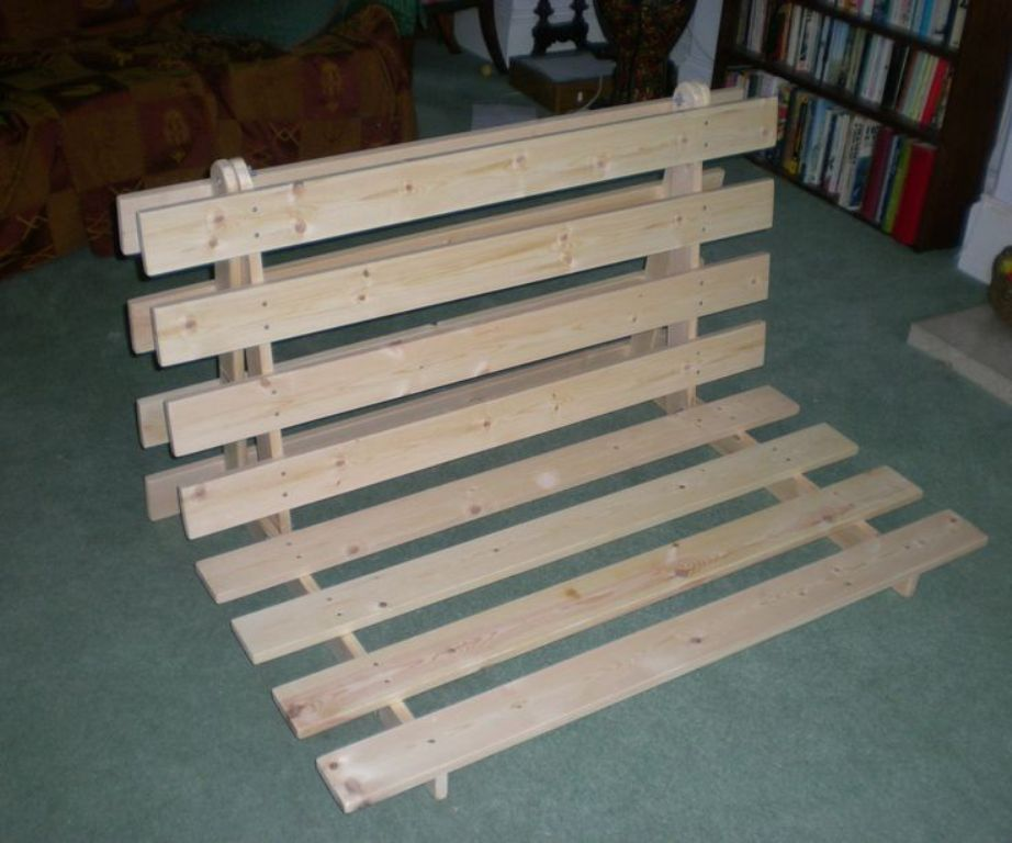 Image of: Wood Futon Frame IKEA