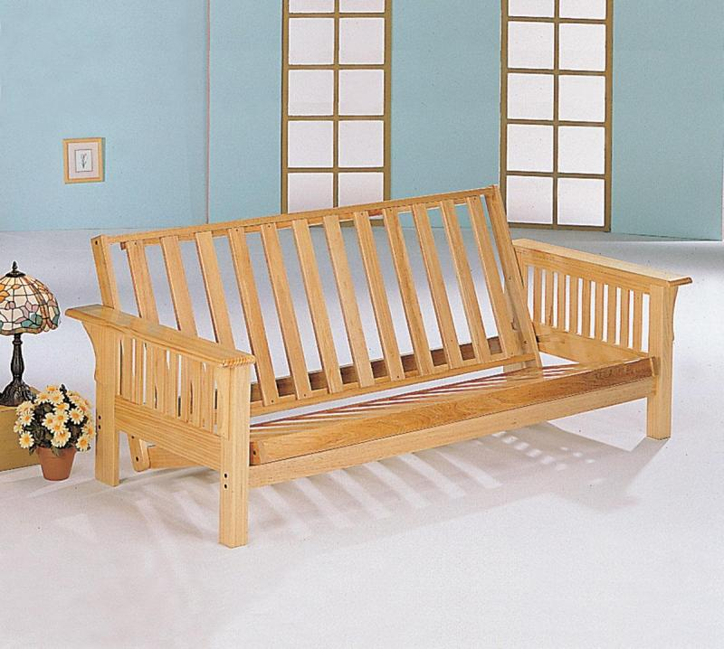 Wood Futon Ideas