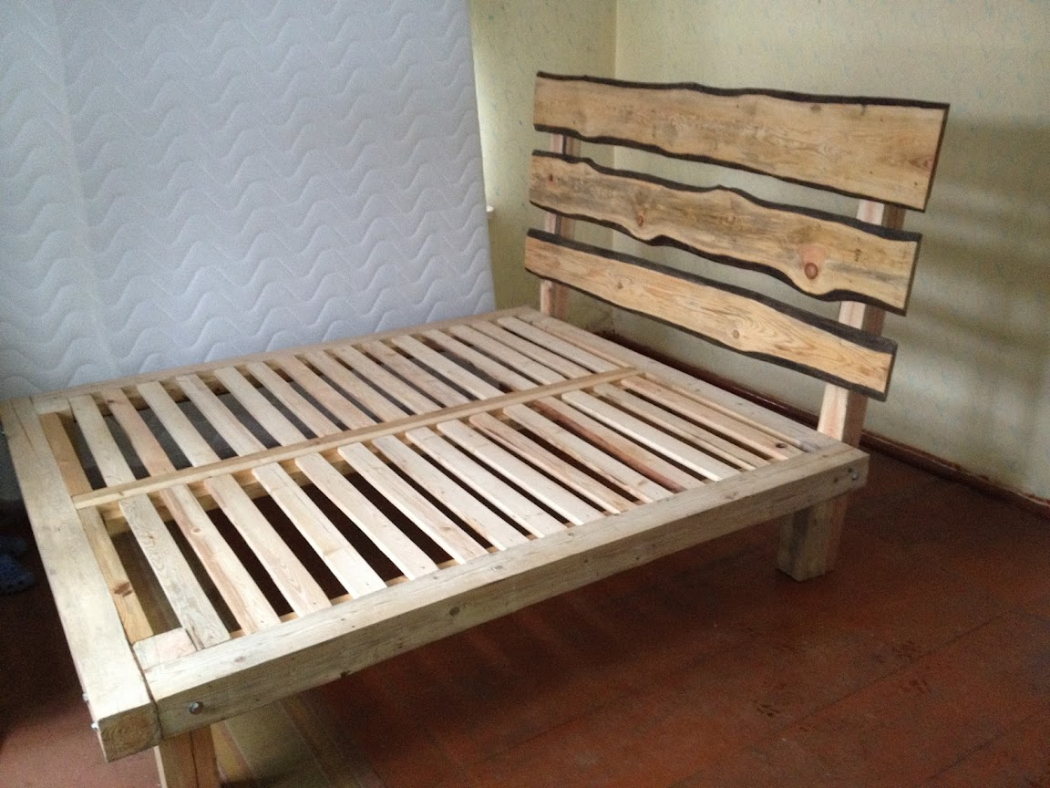 Wooden Futon Frame Simple