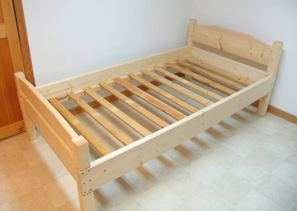 Image of: Wooden Futon Plans