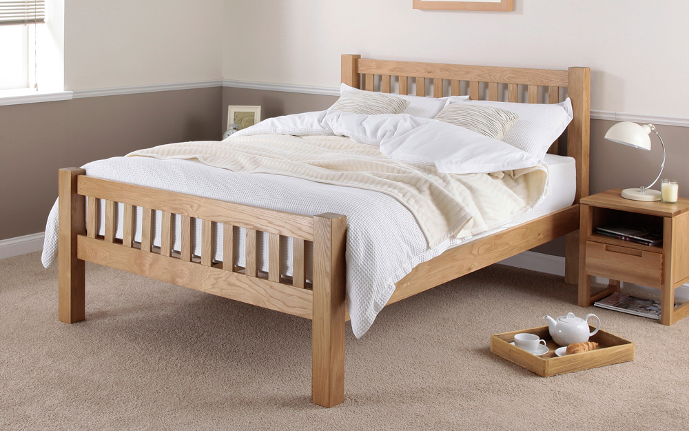 Image of: Wooden Futon Solid