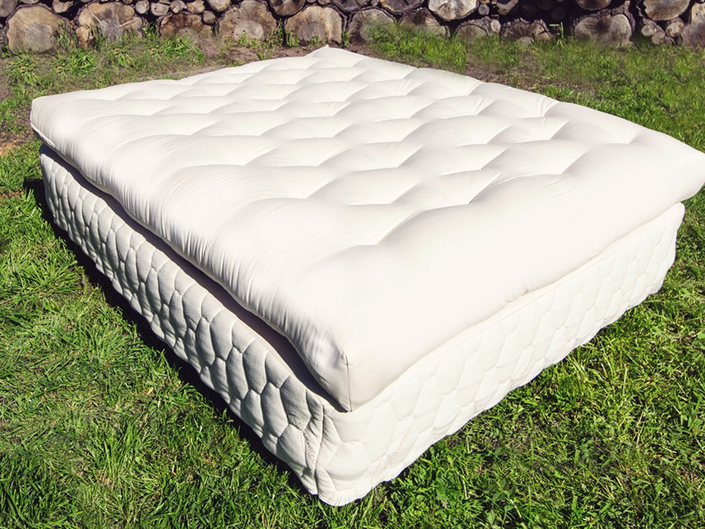 Image of: Wool Futon Topper