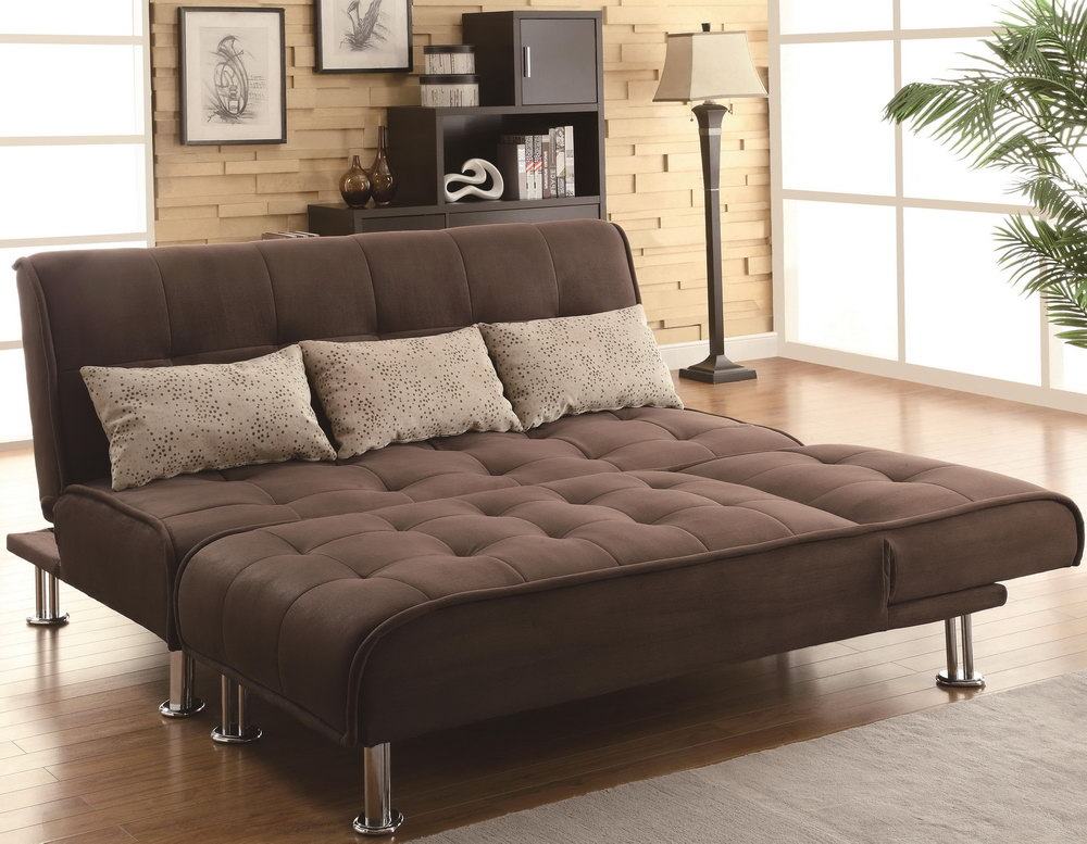 Image of: Brown Futon Topper