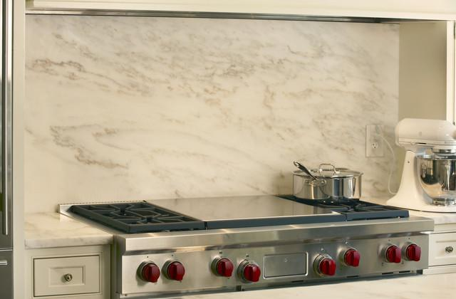 Image of: carrara marble backsplash