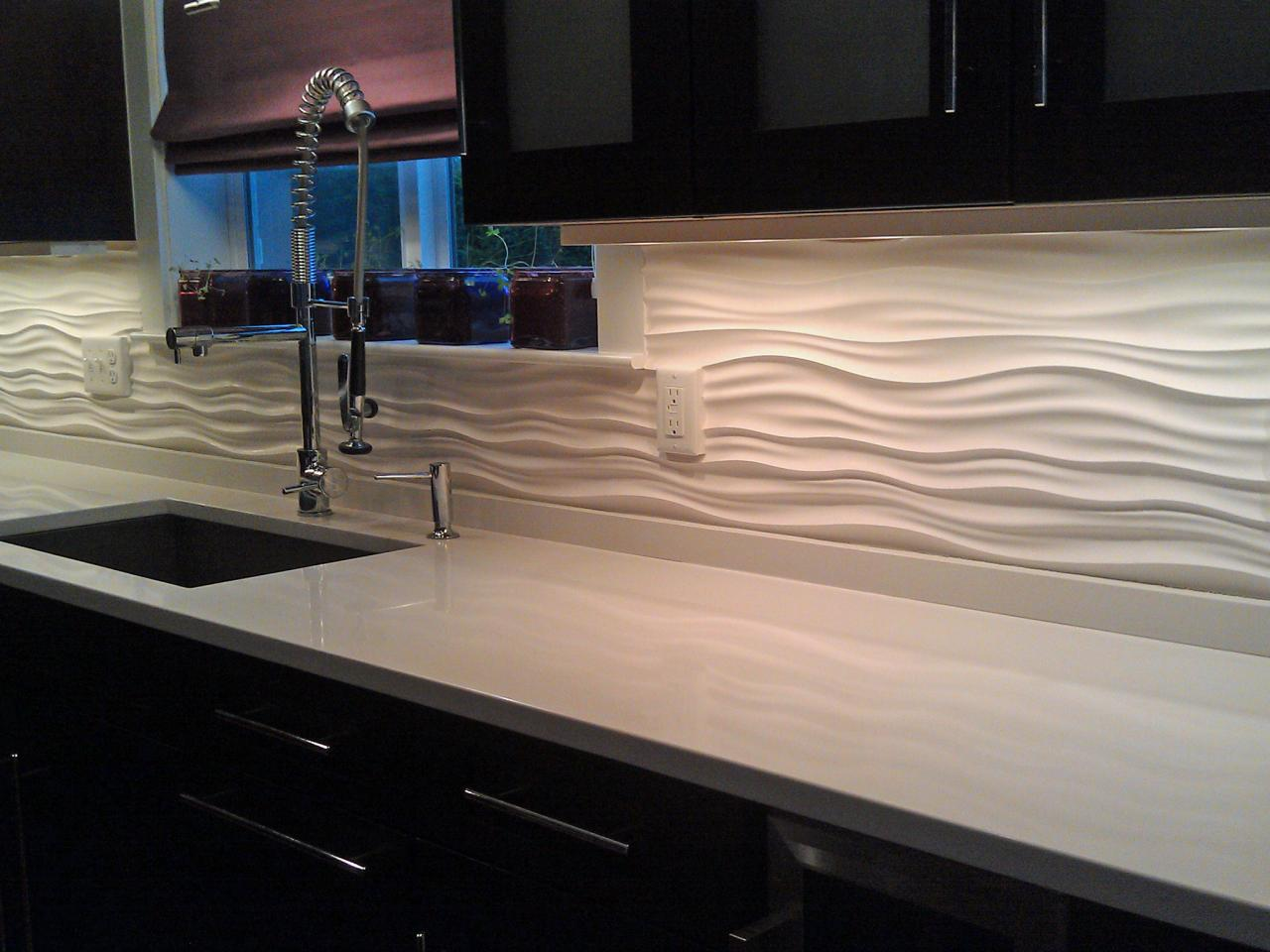 Image of: cheap kitchen backsplash