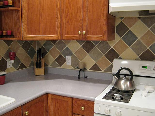 Image of: inexpensive backsplash ideas