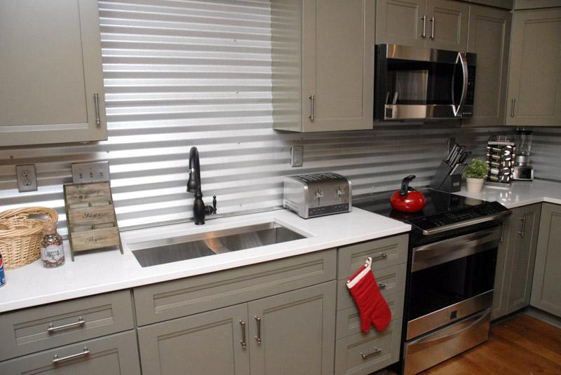 Image of: inexpensive kitchen backsplash ideas pictures