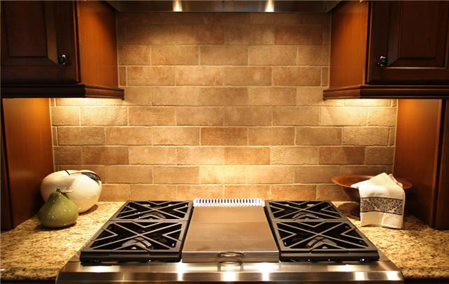 Image of: lowe's kitchen backsplash