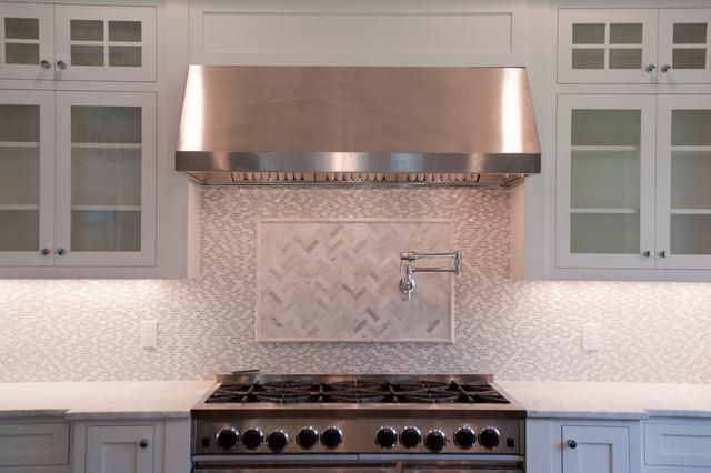 Image of: Marble Backsplash Decor Designs Ideas