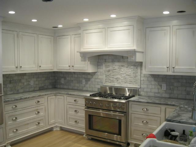 Image of: Marble Tile Backsplash Designs Ideas