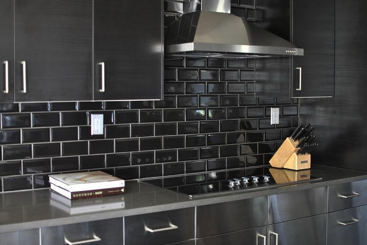 Image of: stainless steel backsplash tiles lowes