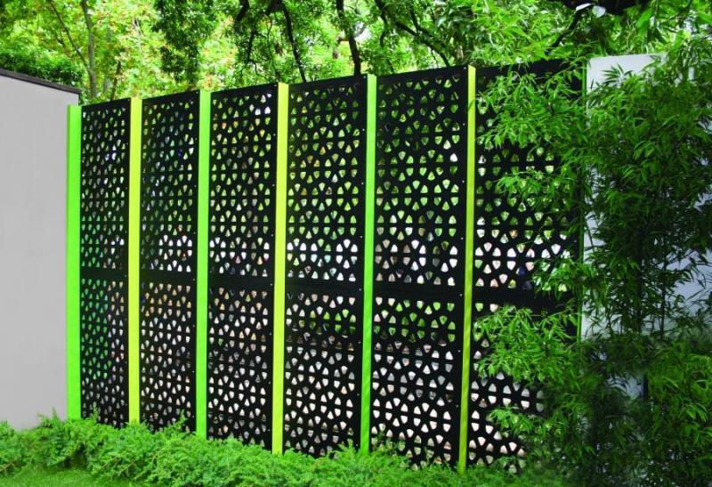 Image of: Decorative Garden Fencing Ideas Screen